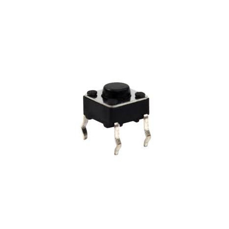 Chave Tact - PUSH BUTTON 6X6X5