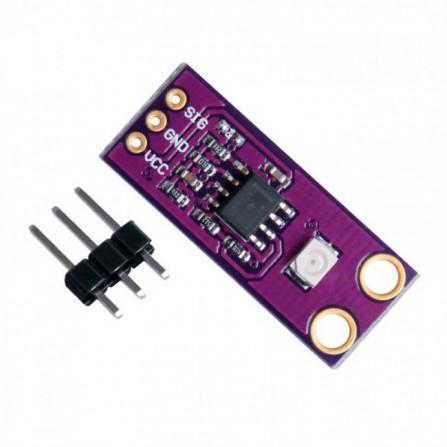 Sensor de Raio Ultravioleta UV Guva - S12SD
