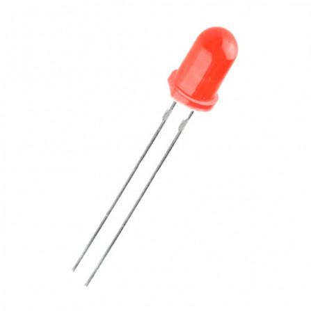 Led Vermelho 5mm - 05 Unidades