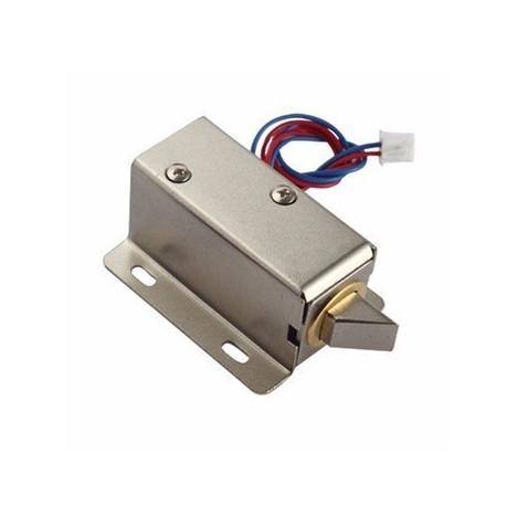 Mini fechadura solenóide eletrônica
