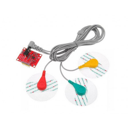 Modulo Sensor Cardíaco com Eletrodos AD8232