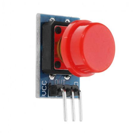 Módulo (Botão) Chave Táctil 12×12cm com Capa
