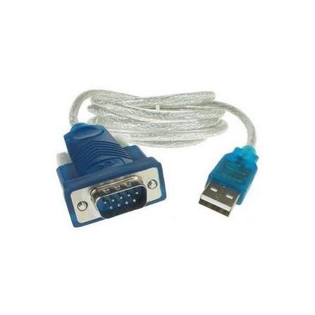 Cabo conversor Serial RS232 HL340 DB9 - Macho USB