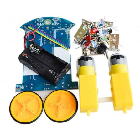 Kit Montagem Robo Seguidor de Linha D2-1 DIY