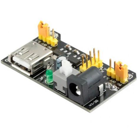 Modulo Fonte Ajustável Para Protoboard - 3.3V e 5V