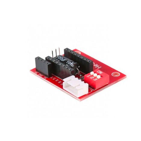 Módulo de acoplamento individual para A4988/RDV8825