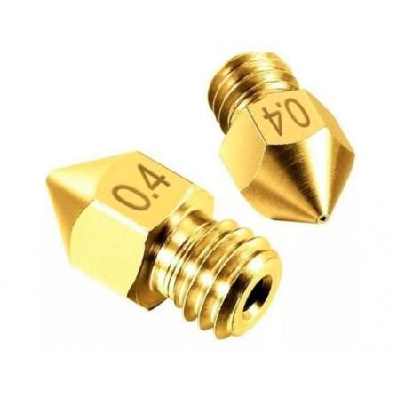 Nozzle bico Hotend 1.75MM M6 0.4MM