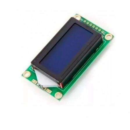 Display LCD 8x2 Azul Com Backlight