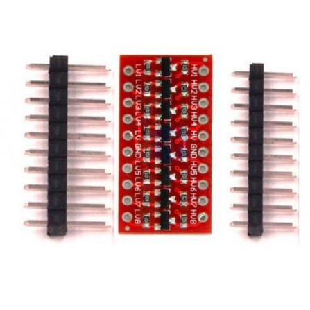 Conversor de Nível Lógico Bidirecional I2C 5V - 3.3V - 8 canais