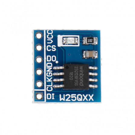 Mádulo de armazenamento Flash W25Q32 128 Bbit