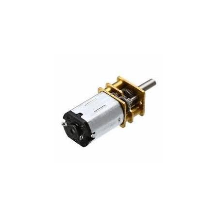 Micro Motor N20 com Caixa de Redução 200:1 100RPM 6V