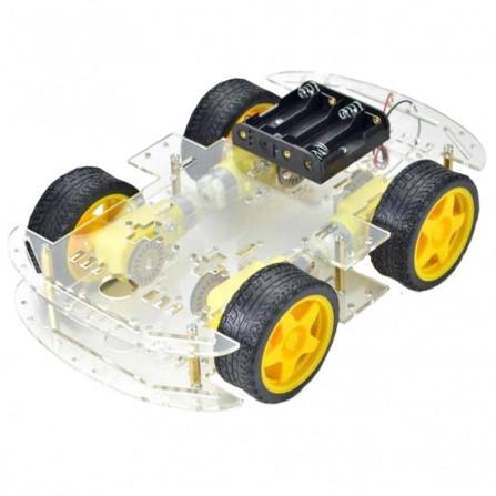 Kit Chassi 4WD 4 Rodas com Motores