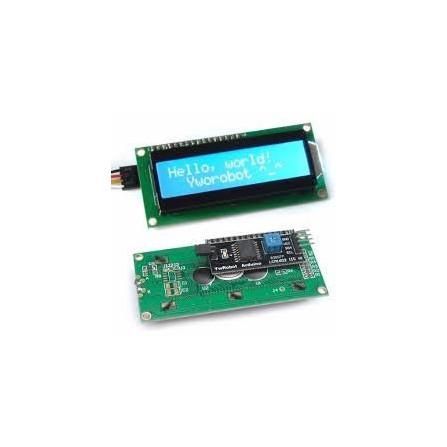 Display LCD 16x2 com Módulo 12C Soldado