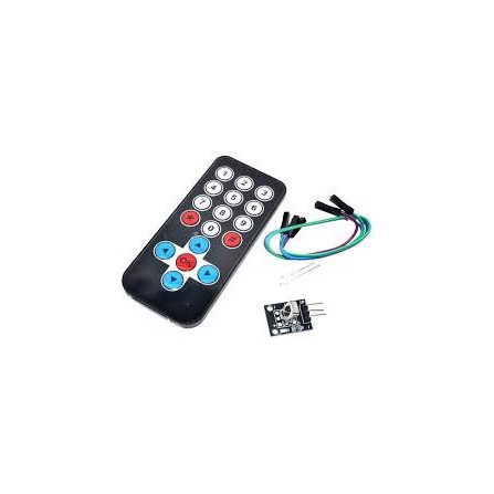 Kit Emissor E Receptor Infravermelho + Controle